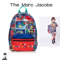 ★The Marc Jacobs★コミックロゴバックパック(37cm)/Red