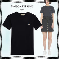 MAISON KITSUNE◆]PROFILE FOX PATCH FITTED T-SHIRT 関税込み