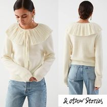【& Other Stories】春先カーデ Statement Collar Knit Cardigan