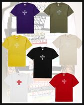 関税込み・2020/FW*Supreme  Cross Box Logo Tee*