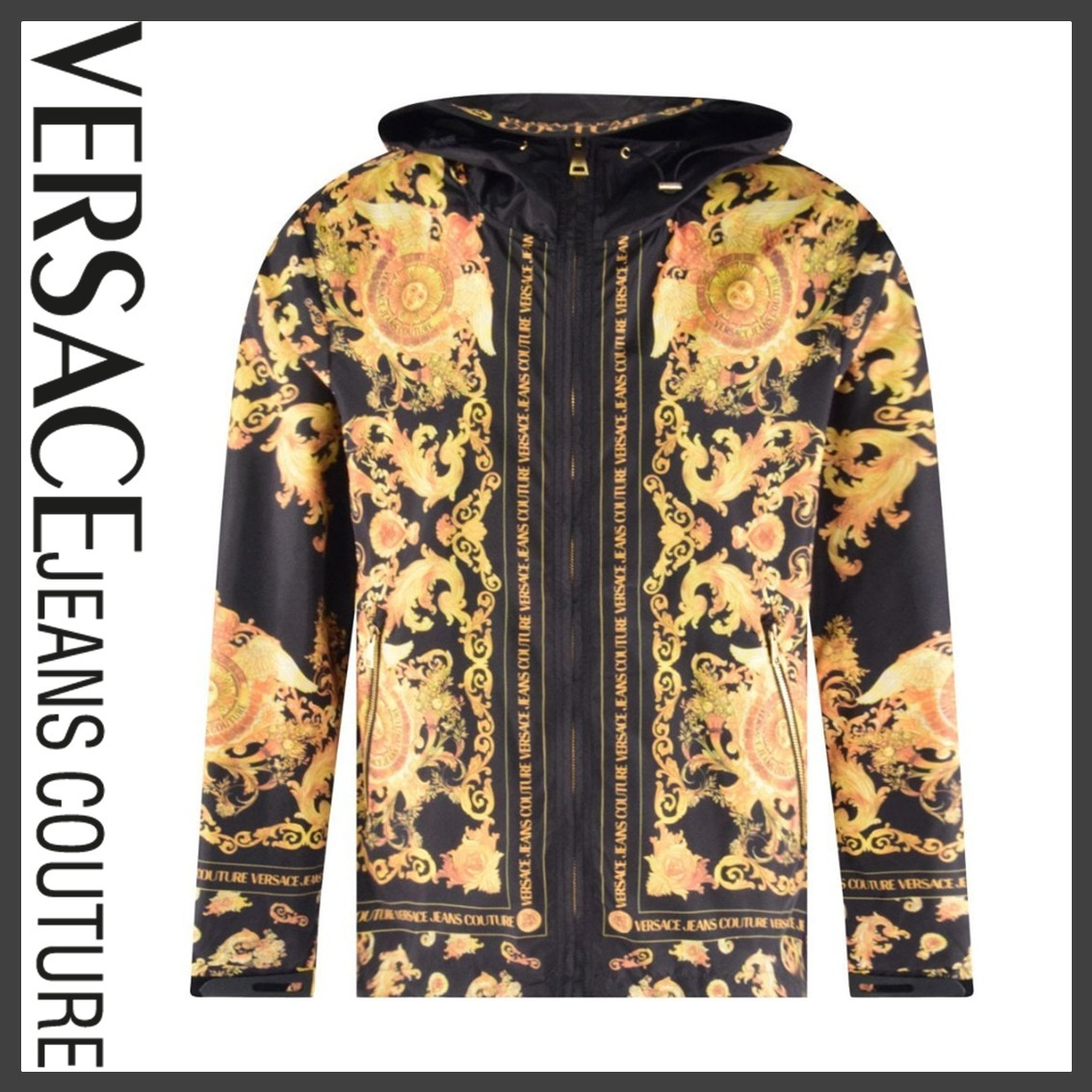 【VERSACE JEANS COUTURE】バロック柄ウィンドブレーカー*関送込 (VERSACE JEANS/ブルゾン) 65335490