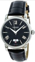Montblanc(モンブラン) アナログ時計 MONTBLANC 4810 42MM AUTOMATIC BLACK DIAL LEATHER MEN'S WATCH