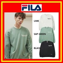[FILA] FILA SPORTS Sweatshirts / MTM/ 3色/ 男女兼用/ 追跡付
