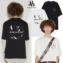 ANDERSSON BELL(アンダースンベル) Tシャツ・カットソー ★ANDERSSON BELL★送料込み★韓国 UNISEX CREVICE ART T-SHIRTS