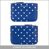 COMME DES GARCONS★ 関送料込! レザードットパターンウォレット