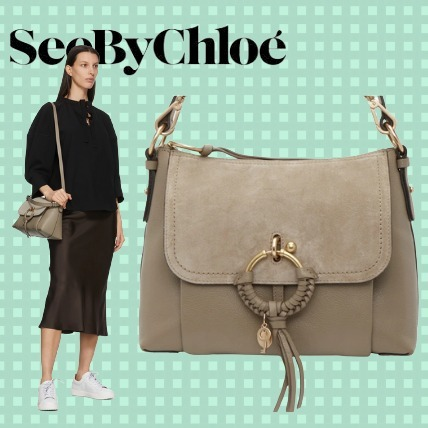 See By Chloe Taupe Small Joan Bag バッグ (See by Chloe/ショルダーバッグ・ポシェット) 211373F048079