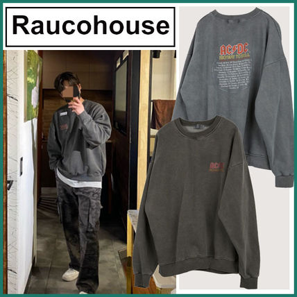 【Raucohouse】ACDC Highway Dying Sweatshirt ★2色