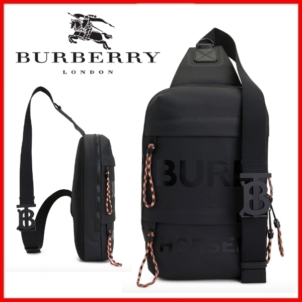 ◆Burberry◆HORSEFERRY CANVAS BACKPACK◆正規品◆ (Burberry/バックパック・リュック) 8036554