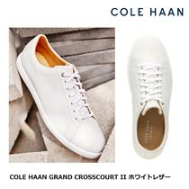 [Cole Haan] Grand Crosscourt II ホワイトレザー スニーカー
