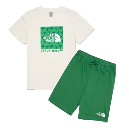 THE NORTH FACE キッズ用トップス THE NORTH FACE K'S GREEN EARTH LOUNGE SET MU2048 追跡付(13)