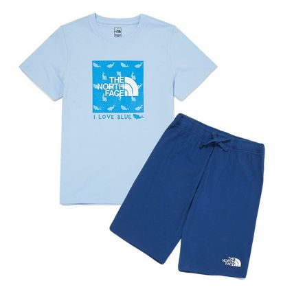 THE NORTH FACE キッズ用トップス THE NORTH FACE K'S GREEN EARTH LOUNGE SET MU2048 追跡付(14)