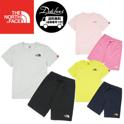 THE NORTH FACE キッズ用トップス THE NORTH FACE K'S WOVEN SHORTS LOUNGE EX SET MU2049 追跡付