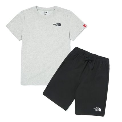 THE NORTH FACE キッズ用トップス THE NORTH FACE K'S WOVEN SHORTS LOUNGE EX SET MU2049 追跡付(2)