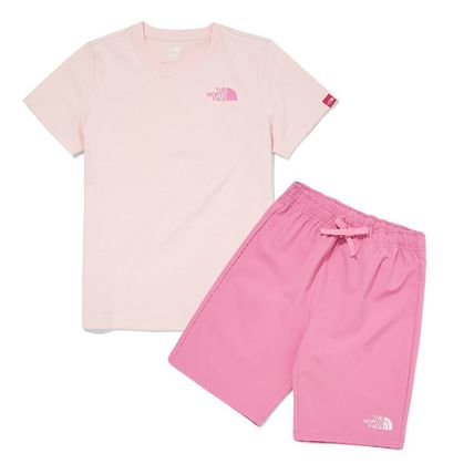 THE NORTH FACE キッズ用トップス THE NORTH FACE K'S WOVEN SHORTS LOUNGE EX SET MU2049 追跡付(12)