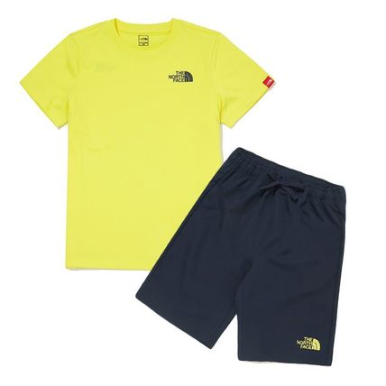 THE NORTH FACE キッズ用トップス THE NORTH FACE K'S WOVEN SHORTS LOUNGE EX SET MU2049 追跡付(13)