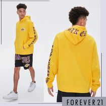 Forever21(フォーエバー21) パーカー・フーディ [forever21]LA レイカーズ◆グラフィックフーディー◎