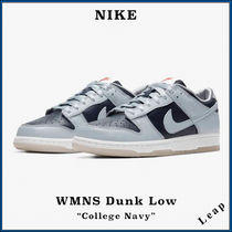 """【NIKE】人気 NIKE WMNS AIR DUNK LOW """"COLLEGE NAVY"""""""
