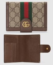 ★GUCCI★Ophidia GG カード収納可♪パスポートケース