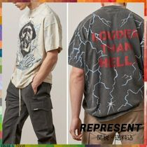 REPRESENT(リプレゼント) Tシャツ・カットソー 21SS *REPRESENT/リプレゼント* LOUDER THAN HELL Tシャツ