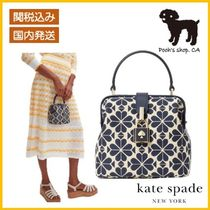 【Kate Spade】spade flower small top-handle bag◆国内発送◆