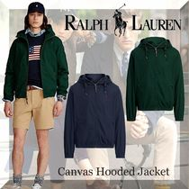 NEW!!【Polo Ralph Lauren】Canvas Hooded Jacket-2color