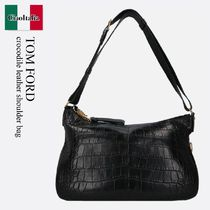 Tom Ford crocodile leather shoulder bag