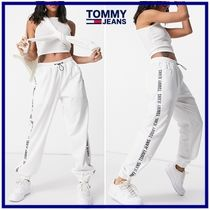 ☆Tommy Jeans☆ロゴテープ ジョガーパンツ White 関税・送料込
