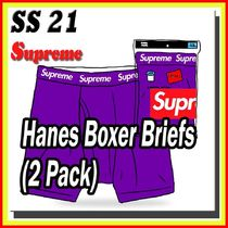 1 week SS 21 Supreme Hanes Boxer Briefs (2 Pack)