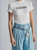 2021SS 3月店頭入荷CHANEL★LOOK20★LOGO TEE in black/white