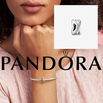 Pandora★SPARKLING AND POLISHED LINES SPACER CHARM 791994CZ