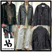 ★ANDERSSON BELL★UNISEX OVERSIZED WESTERN LEATHER JACKE.T★