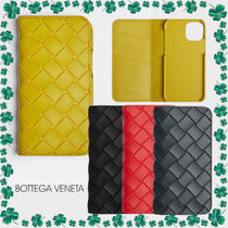 【BOTTEGA VENETA】iPhone12/12Pro専用 フラップ iPhoneケース
