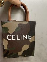 最新作★2021 S/S CELINE★MINI VERTICAL CABAS IN CAMO