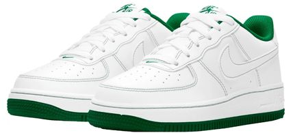 Nike キッズスニーカー 大人も履ける*Nike Kids' Grade School Air Force 1 Shoes*緑