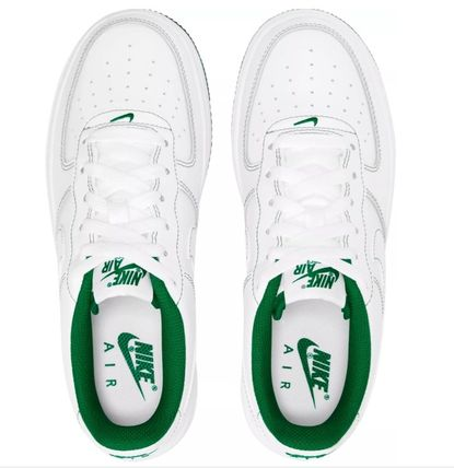 Nike キッズスニーカー 大人も履ける*Nike Kids' Grade School Air Force 1 Shoes*緑(2)