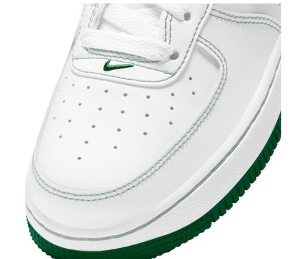 Nike キッズスニーカー 大人も履ける*Nike Kids' Grade School Air Force 1 Shoes*緑(6)