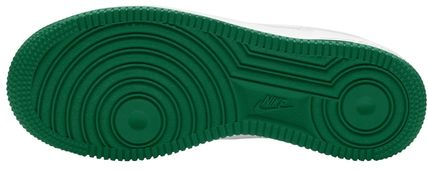 Nike キッズスニーカー 大人も履ける*Nike Kids' Grade School Air Force 1 Shoes*緑(8)