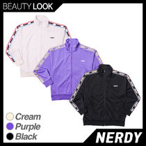 【NERDY】正規品★RGB logo tape track Top★トレーニングトップ