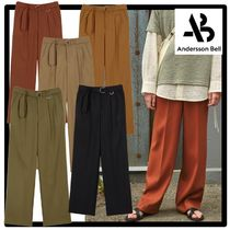 ANDERSSON BELL(アンダースンベル) パンツ 関税込★ANDERSSON BELL★MATTHEW BELTED WIDE LEGGED TROUSER.S