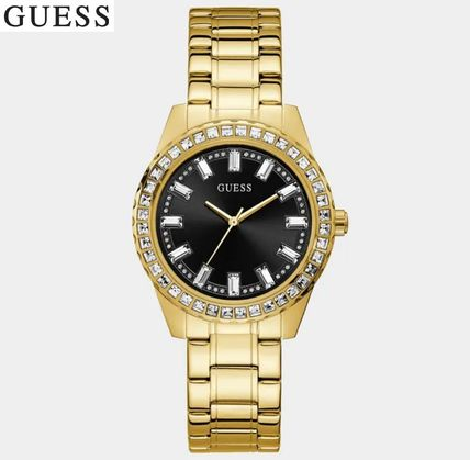 【GUESS】クリスタルダイアル腕時計Sparkler IPS Crystal Dial