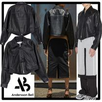 ANDERSSON BELL(アンダースンベル) レザージャケット・コート ☆ANDERSSON BELL☆SHOREDICH GOAT LEATHER CROP JACKE.T★