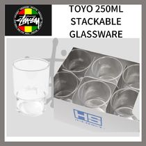STUSSY(ステューシー) コップ・グラス Stussy☆TOYO 250ML STACKABLE GLASSWARE☆DHL送料込