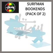 Stussy☆SURFMAN BOOKENDS (PACK OF 2)☆DHL送料込