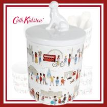 【Cath Kidston】Ceramic Pet Treat Jar おやつ入れ 小物入れ