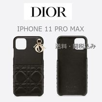 【DIOR】LADY DIOR COVER FOR IPHONE 11 PRO MAX ケース