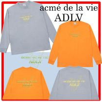 ☆人気☆【acme'delavie】☆FAKE LOGO LONG SLEEVE T-SHIR.T☆