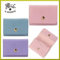 2021SS【IL BISONTE】ペールトーンspringカラー カードケース