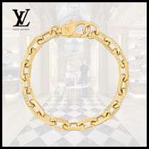 Louis Vuitton(ルイヴィトン)LV EDGE NECKLACE MM Gold Chain
