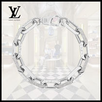 Louis Vuitton(ルイヴィトン)LV EDGE NECKLACE GM Silver Chain