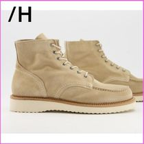 SELECTED(セレクトテッド) ブーツ 関送込#Selected Homme レースアップブーツ beige suede